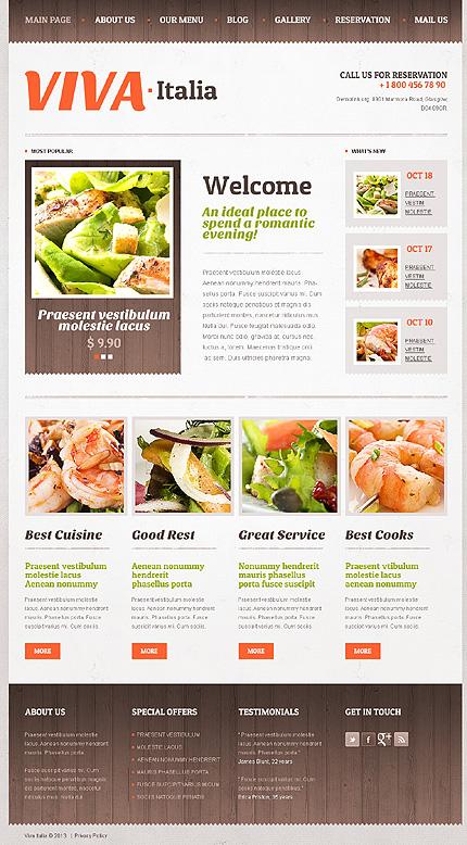 Drupal Template 43773 Main Page Screenshot