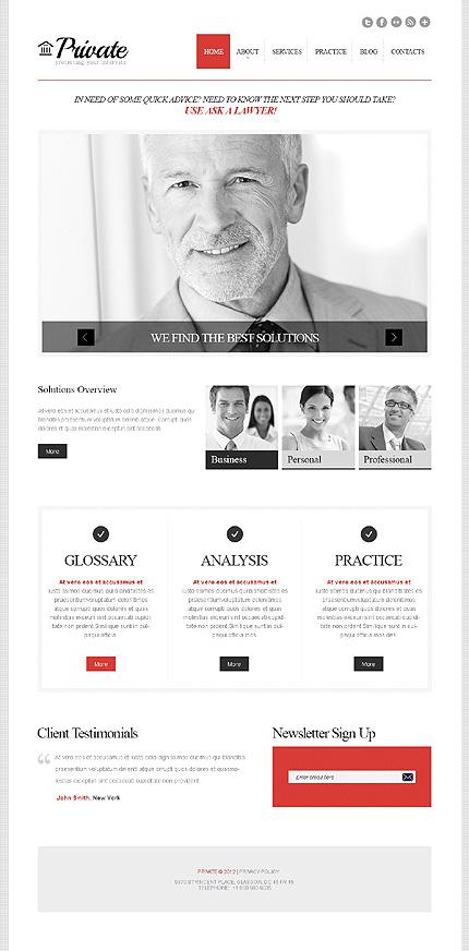 Website Template #43776