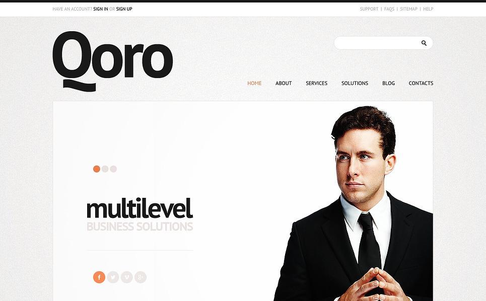 Template Joomla para Sites de Agencia de marketing №43783 New Screenshots BIG