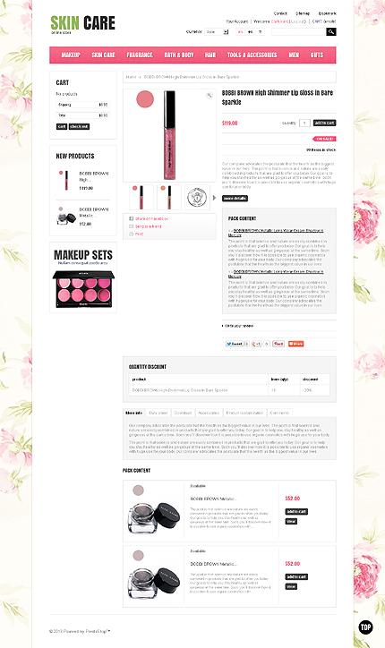 ADOBE Photoshop Template 43784 Home Page Screenshot