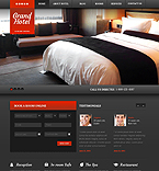 Hotels WordPress Template 43791