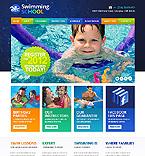 Sport Website  Template 43794