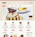 Cafe & Restaurant Website  Template 43795