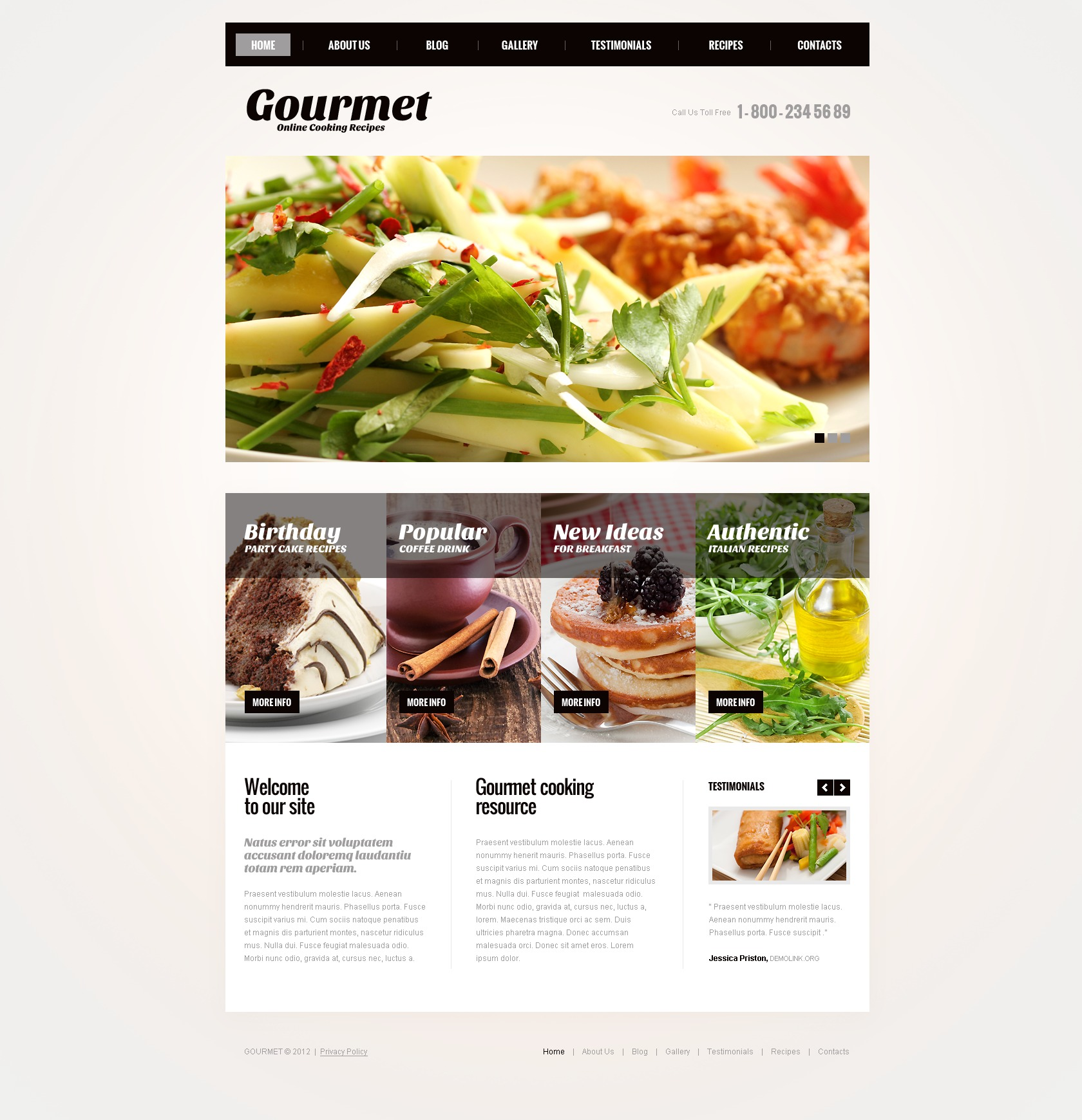 Cooking recipes joomla template 43778 cooking recipes joomla template forumfinder Images