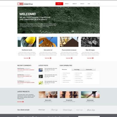 search engine friendly website templates templatemonster. Black Bedroom Furniture Sets. Home Design Ideas