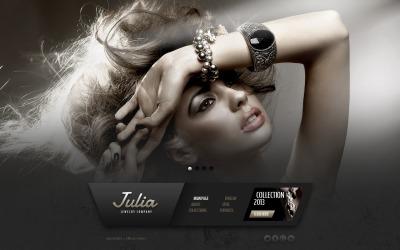 Jewelry Web Sitesi Şablonu
