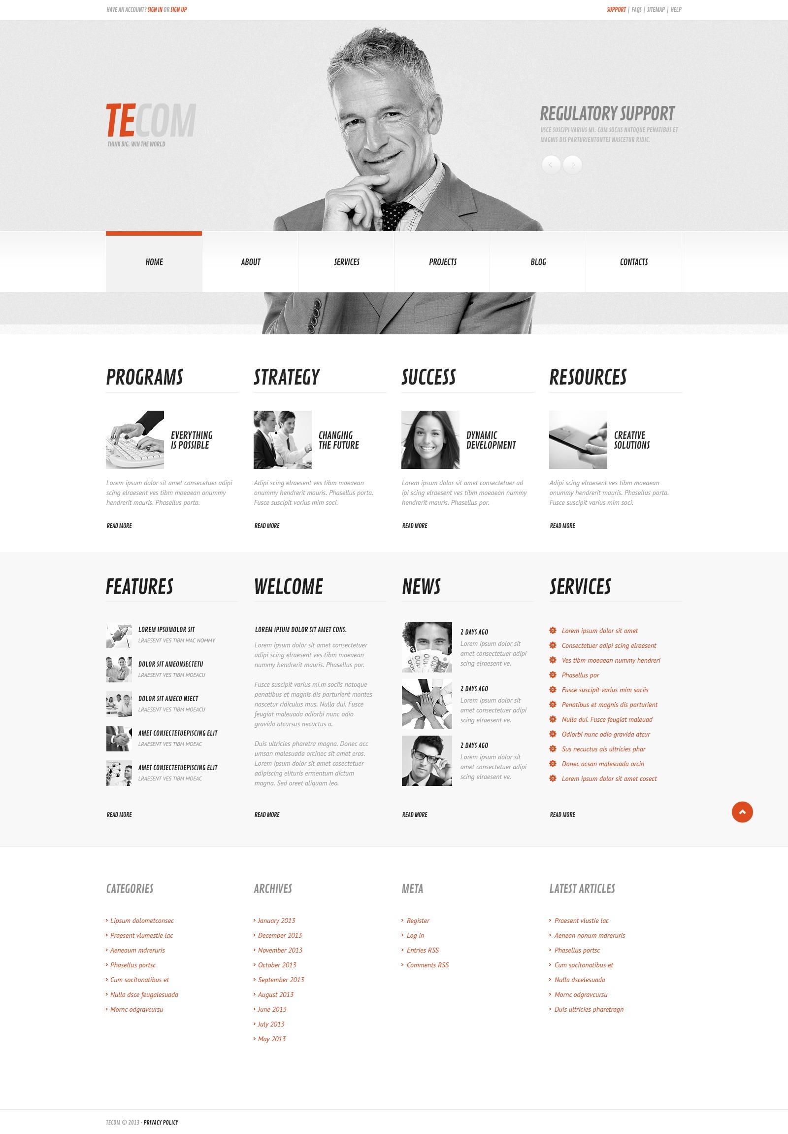Responsive Cherry Marketing Agency Wordpress #43789 - Ekran resmi