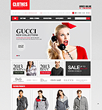 Fashion OpenCart  Template 43804