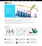 Science Moto CMS HTML  Template 43819