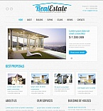 Real Estate Moto CMS HTML  Template 43823