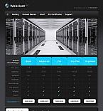 Web Hosting Moto CMS HTML  Template 43825
