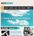 Religious Facebook HTML CMS  Template 43831