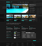 Architecture Website  Template 43851