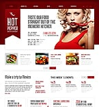 Cafe & Restaurant WordPress Template 43854