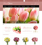 Flowers PrestaShop Template 43860