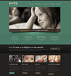 Charity Website  Template 43871