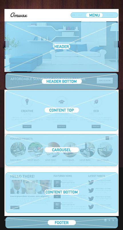 Drupal Template 43874 Main Page Screenshot