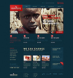 Charity Website  Template 43880