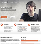 Web design WordPress Template 43885