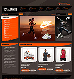 Sport VirtueMart  Template 43891