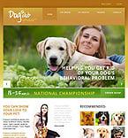 Animals & Pets Website  Template 43892