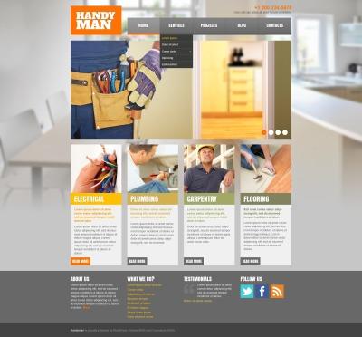 19 best premium home repairs wordpress themes