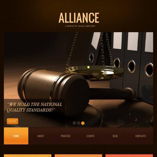 Alliance - Facebook HTML CMS Template