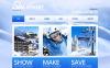 Premium Kayakçılık  Moto Cms Html Şablon New Screenshots BIG