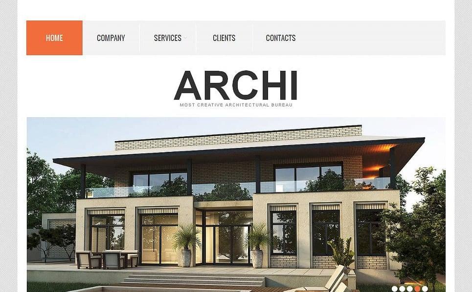 Template Moto CMS HTML para Sites de Arquitetura №43812 New Screenshots BIG