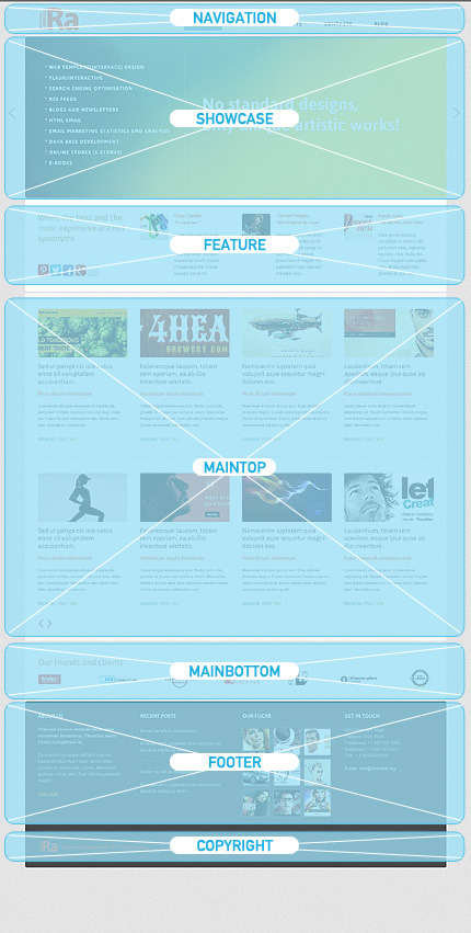 Joomla Theme/Template 43901 Main Page Screenshot