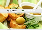 Cafe & Restaurant Flash CMS  Template 43912