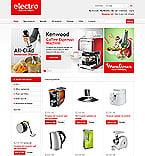 Electronics ZenCart  Template 43914