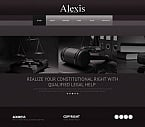 Law Moto CMS HTML  Template 43918