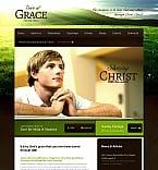 Religious Moto CMS HTML  Template 43924