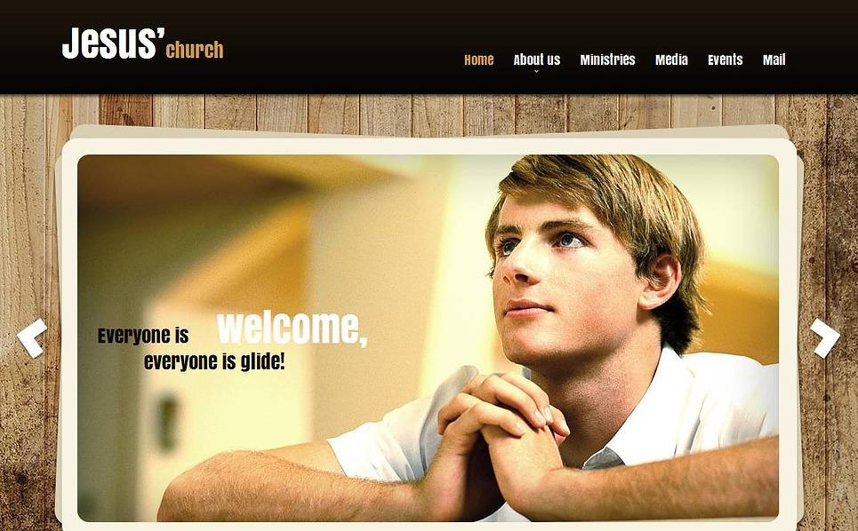 MotoCMS HTML шаблон на тему християнство New Screenshots BIG
