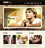 Religious Moto CMS HTML  Template 43929