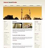 Religious Moto CMS HTML  Template 43930