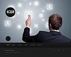 Communications Moto CMS HTML  Template 43933