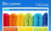 Premium Moto CMS HTML-mall för städning New Screenshots BIG