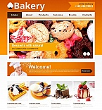 Food & Drink Moto CMS HTML  Template 43936