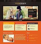 Religious Moto CMS HTML  Template 43937