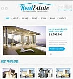 Real Estate Facebook HTML CMS  Template 43938