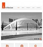 Architecture Facebook HTML CMS  Template 43947