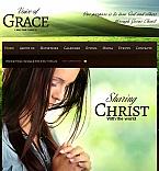 Religious Facebook HTML CMS  Template 43949