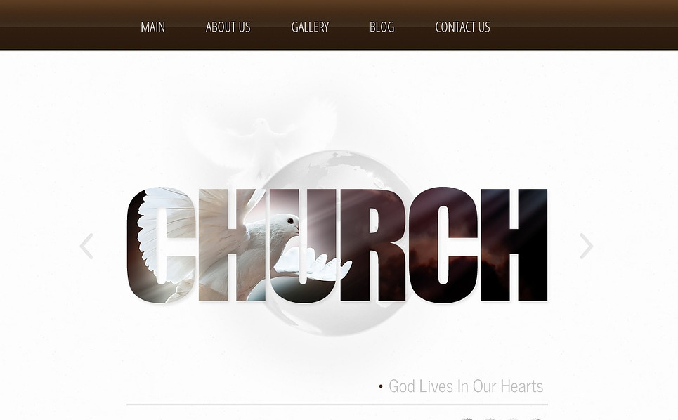 Bootstrap Website template over Godsdienstige  New Screenshots BIG