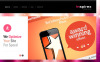 Responsivt WordPress-tema för designerportfolio New Screenshots BIG