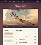 Religious Drupal  Template 43981