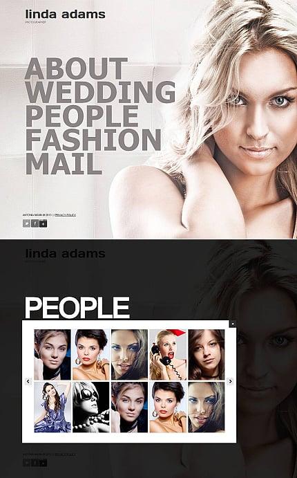 ADOBE Photoshop Template 43990 Home Page Screenshot
