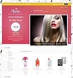 Beauty VirtueMart  Template 43997