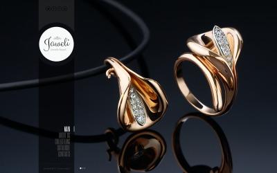 Bootstrap szablon strony www #43966 na temat: biżuteria